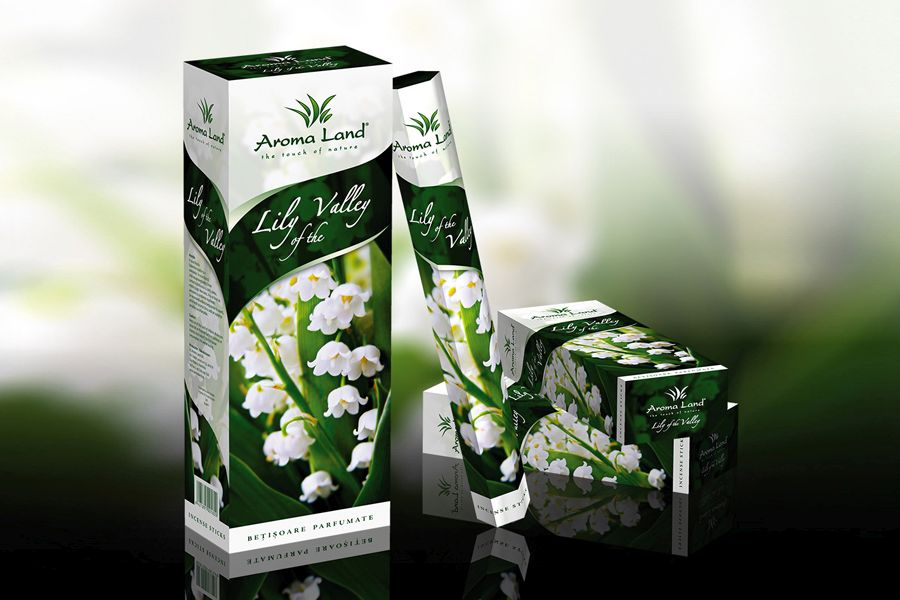 Betisoare aromate Lily of the Valley
