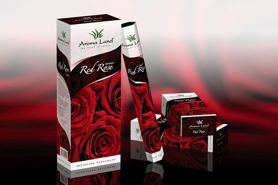 Betisoare aromate Red Rose