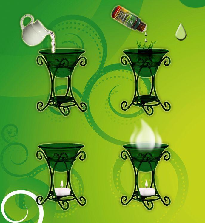 Cum se folosesc uleiurile parfumate in arzator
