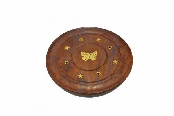 suport disc betisoare parfumate - model fluture